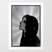 madonna Art Prints featuring Madonna by ODDITY