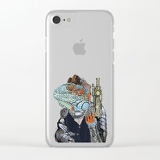 Steam Dragon Sheriff Clear iPhone Case
