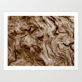 Burl Art Print