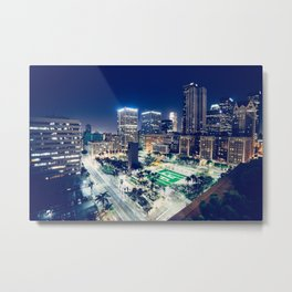Tampa - World Big City Metal Print