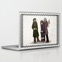 nori Laptop & iPad Skins featuring Hair Care by wolfanita