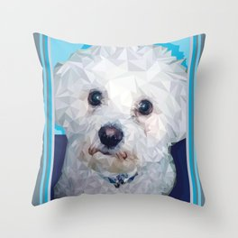 Roscoe Dog Throw Pillow