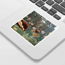 Henri Rousseau The Dream Sticker