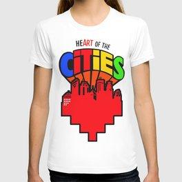 #heArtoftheCities T-shirt