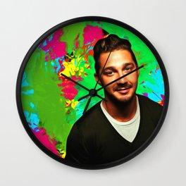 Shia LaBeouf - Celebrity Art Wall Clock