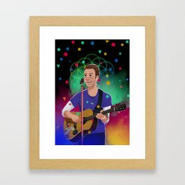 Chris Martin AHFOD Framed Art Print