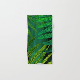 Forest Fern Green Hand & Bath Towel