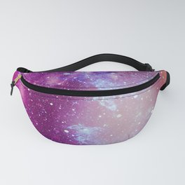 Pink Galaxy Painting Fanny Pack