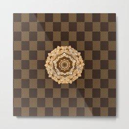 Mandala pattern Metal Print