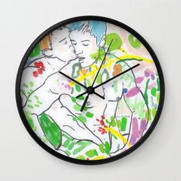 Somewhere In Between Wall Clock