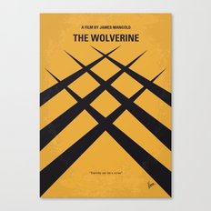 No222 My Wolverin minimal movie poster Canvas Print