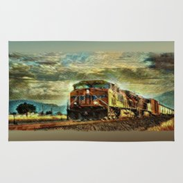Observance Valley Freight Line Rug