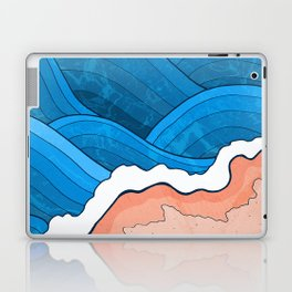 Seaside Beach Laptop & iPad Skin