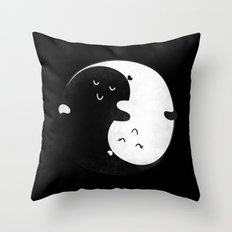 Death Can't Do Us Apart Throw Pillow