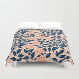 Coral nature Duvet Cover