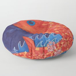 Something's Fishy Floor Pillow
