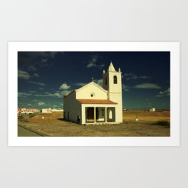 Small church Art Print