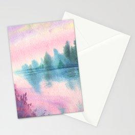 Enchanted Lake Stationery Cards