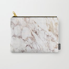 White Onyx Marble Carry-All Pouch