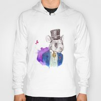hamster Hoodies featuring hamster by Amit Shimoni
