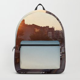 Harlem in the summer Backpack