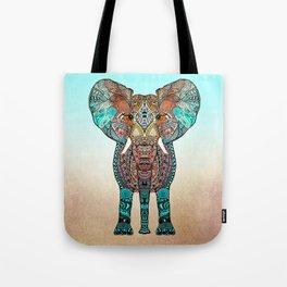 BOHO SUMMER ELEPHANT Tote Bag