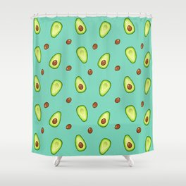 Off With Their Pits Shower Curtain