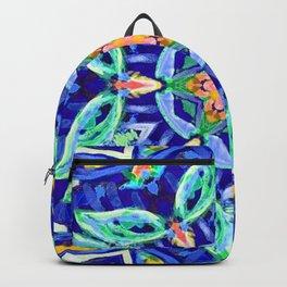 aztec floral mandala Backpack