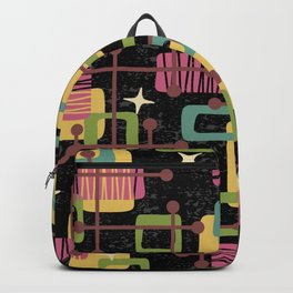 Mid Century Modern Abstract Pattern 836 Backpack