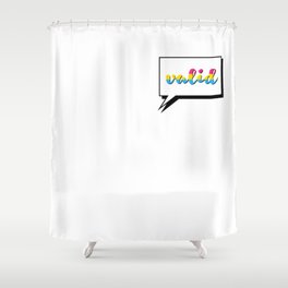 Pan People are Valid Shower Curtain