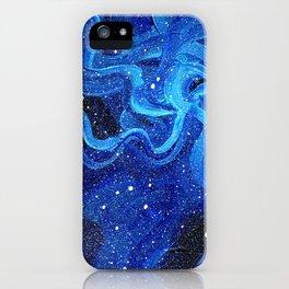 Galaxy Painting Acrylic Galaxy Art iPhone Case