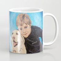 best friends Mugs featuring Best Friends by gretzky