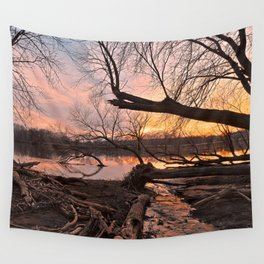 Potomac Sunset Wall Tapestry