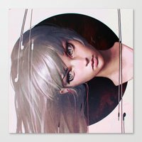 circles Canvas Prints featuring Circles by Ilya Kuvshinov