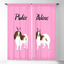 Phalène (Pink) Blackout Curtain