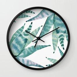 Desert Succulents Wall Clock