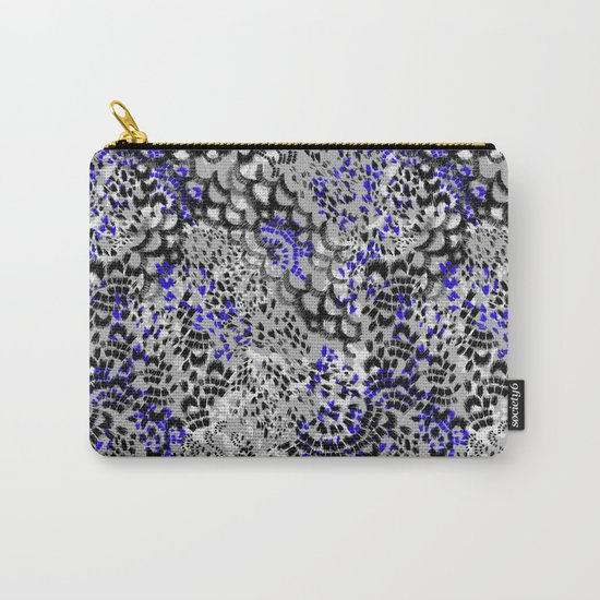 Texture Effect Carry-All Pouch