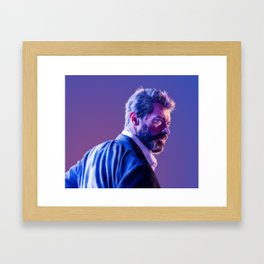 logan howlett Framed Art Print