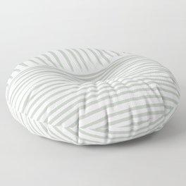 Contra Sage Lines  Floor Pillow