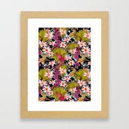 tropical lilly Framed Art Print