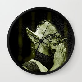 The DalaiYOda Wall Clock
