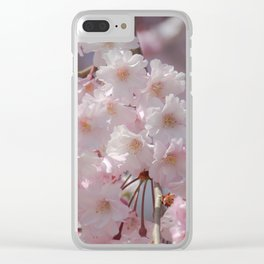 Springtime Cherry Clear iPhone Case