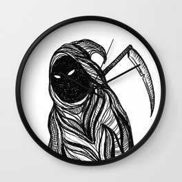 Death is Watching Wall Clock