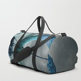 Boat and Moon Duffle Bag