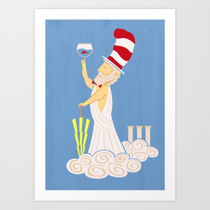Dr. Zeus Art Print