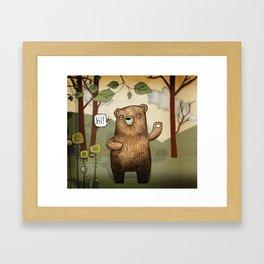 The Little Bear Framed Art Print