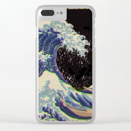 The Great Vaporwave Clear iPhone Case