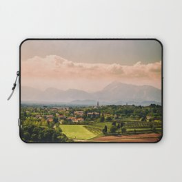 sunny spring day in the countryside Laptop Sleeve
