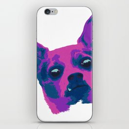 chihuahua - wht iPhone Skin
