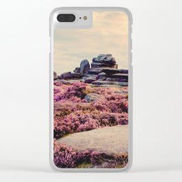 Heather at Dusk Clear iPhone Case